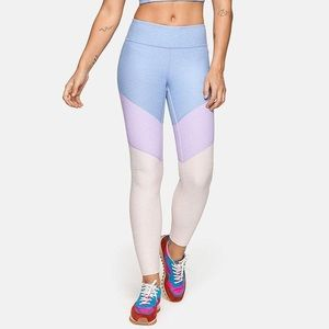 Outdoor Voices Tri-color Springs leggings 7/8 | S